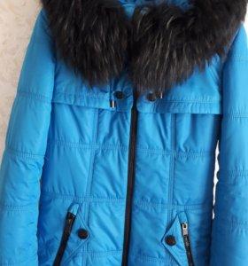 Пальто на девочку рост 140-146