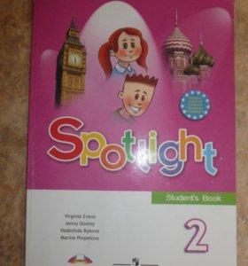 Учебник по английский спорт лайт 2 класс
