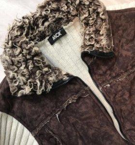 Вязанная куртка