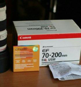 Новый Canon EF 70-200mm f/4L USM