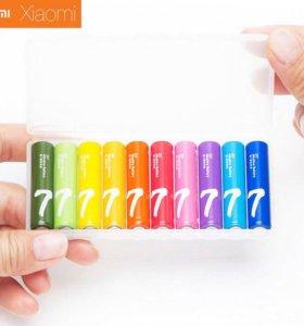 Батарейки алкалиновые AAA Xiaomi Zi7 Rainbow, 10шт