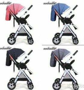 Новые коляски Coballe,максимальная комплектация.