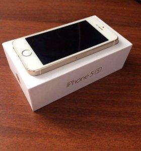 Айфон 5 s 16 g gold