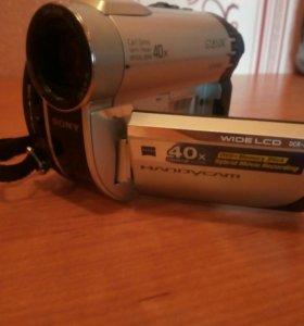 Видеокамера sony dcr-dvd610