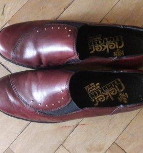 Бордовые ботиночки