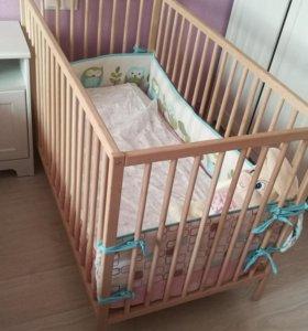 Кроватка Икея