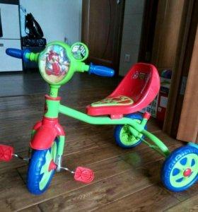 Детский Трех колесный велосипед