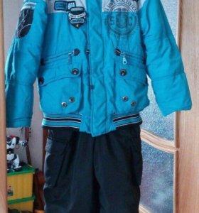 Комбез зима (куртка+полукомбез)