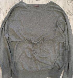 Тёплый свитер для беременных