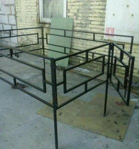 Продаются металлические ограды по низким ценам
