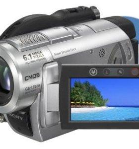 Видеокамера Sony DCR-DVD508 с кофром