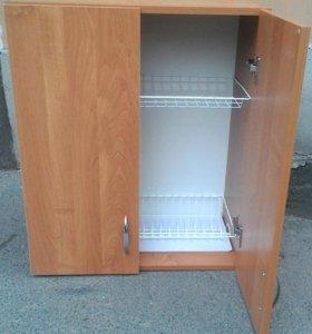 Кухонные навесные шкафы с посудосушителем 60см.