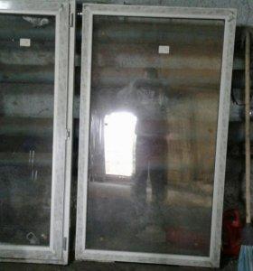 Пластиковое окно новое(торг,обмен на предложенное)