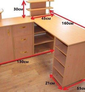 Маникюрный стол с подставками на заказ любой цвет