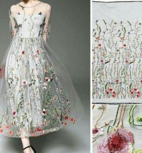 Свадебные и вечерние ткани