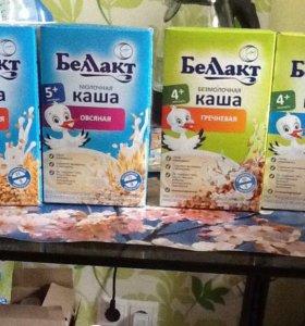 Детское питание Беллакт каша молочная