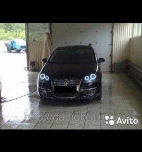 Ангельские глазки на Volkswagen Jetta / golf 5