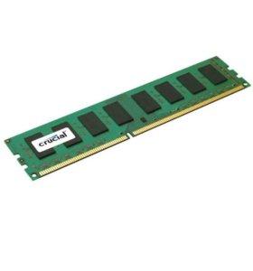 CRUCIAL DDR3 4x2 8g 1600mz