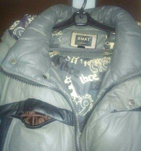 Куртка зимняя р 52 б/у
