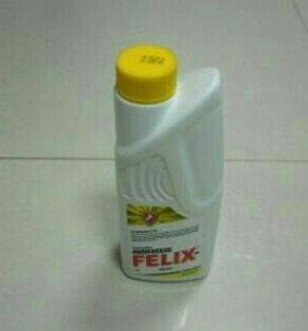 Антифриз Felix желтый, 2 литра