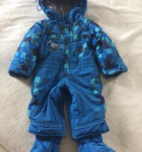 Детский демисезонный комбинезон для мальчика 80-86