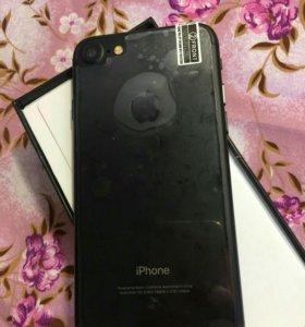 Айфон 7 черный матовый