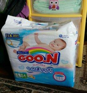 Подгузники Goon s 4-8 кг 84шт