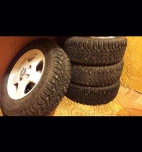 Комплект зимних колёс на литье r13