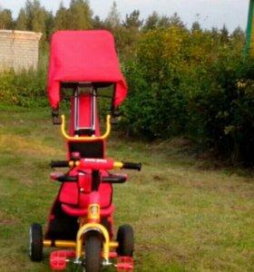 Детский трехколесный велосипед Angry Birds