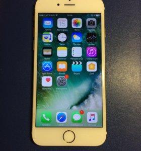 iPhone 6 на 16 gb Gold