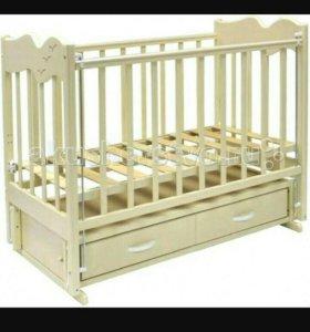 Кроватка детская 'ЧАЙКА'