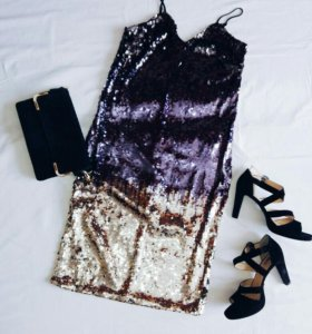 🆕 Платье h&m с пайетками