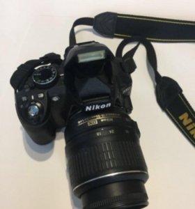 Nikon d3100+удобная сумка-чехол