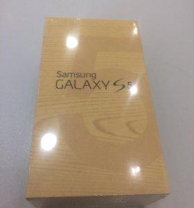 Samsung Galaxy s5 LTE white. Новый