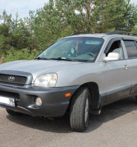 Hyundai Santa Fe, 2003 2.7(АТ)4WD.