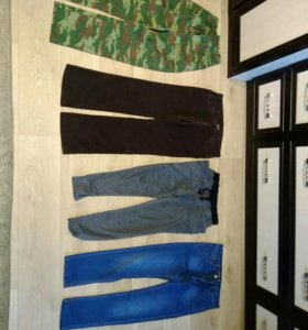 Штаны джинсы джоггеры спортивные штаны