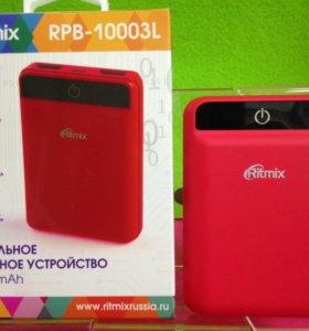 Power Bank Ritmix 10.000mah 2USB