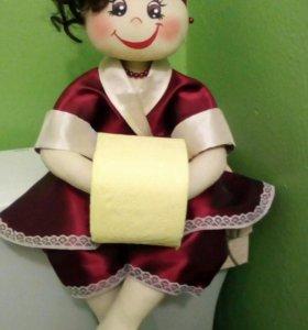 куклы держатель туалетной бумаги