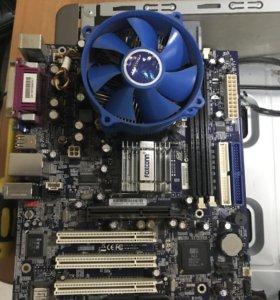 Мат.плата+процессор+память