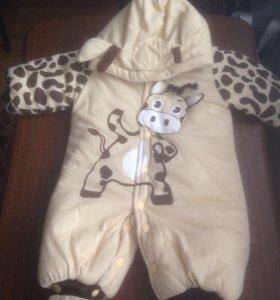 Комбинезон детский (Жирафик)