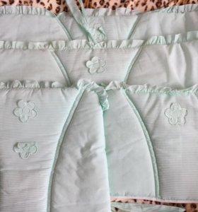 Комплект в кроватку 10 предметов