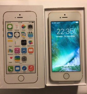 Продаю iPhone 5s на 16GB Gold новый