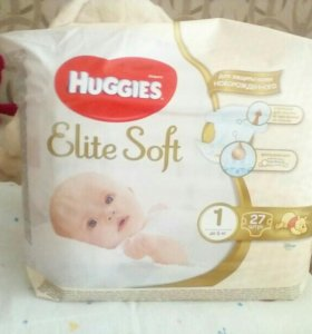 "Памперсы ""Huggies Elite Soft"""