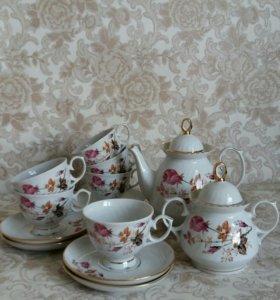 Чайный сервиз,, Голандская роза ,,