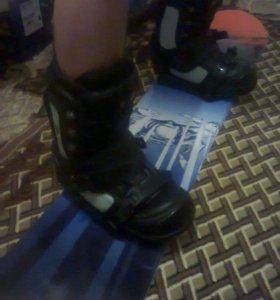 Сноубордические ботинки 43 размер