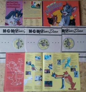 "Лазерные диски (3шт) ""The art of Tom&Jerry"" vol.2"