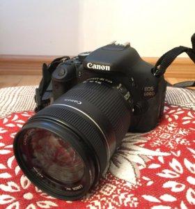 Фотоаппарат Canon EOS 600D + EFS 18-135mm