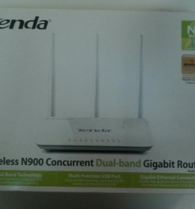 Wi-Fi роутер Tenda Wireless N900