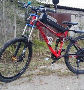 Электрический велосипед электровелосипед