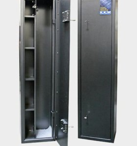 Оружейный шкаф с 3 полками